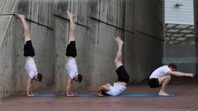 the ring fraternity handstand tutorial